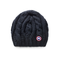 Шапка CANADA GOOSE CHUNKY CABLE KNIT 6194L NAVY
