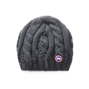 Шапка CANADA GOOSE CHUNKY CABLE KNIT 6194L IRON GREY
