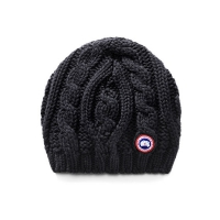 Шапка CANADA GOOSE CHUNKY CABLE KNIT 6194L BLACK