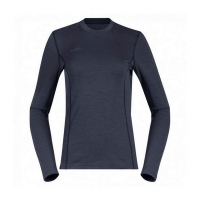 Футболка BERGANS AKELEIE LADY SHIRT DARK FOGBLUE