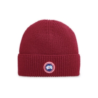 Шапка CANADA GOOSE ARTIC DISK RIB TOQUE 5026M RED