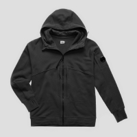Толстовка CP COMPANY DIAGONAL FLEECE FULL ZIP HOODIE