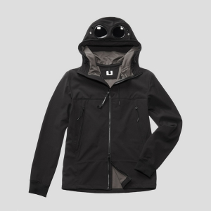 Куртка CP COMPANY C.P.SHELL GOOGLE JACKET BLACK