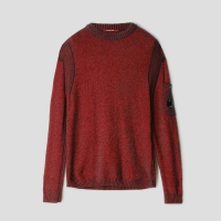 Джемпер CP COMPANY WOOL FLEECE KNIT LENS CREWNECK