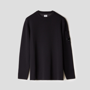 Джемпер CP COMPANY NYLON-COTTON DOUBLE LENS SWEATER