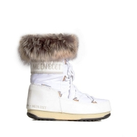Сапоги MOON BOOT MONACO LOW WP2 WHITE