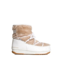 Сапоги MOON BOOT MONACO LOW FUR WP2 WHITE