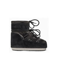 Сапоги MOON BOOT CLASSIC LOW SATIN BLACK