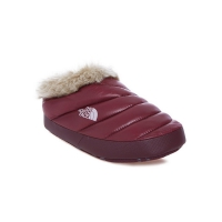 Тапочки THE NORTH FACE W NSE TENT MULE FAUX FUR II DEEP SHINY GARNET RED