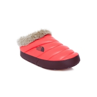 Тапочки THE NORTH FACE W NSE TENT MULE FAUX FUR II SHINY CALIPSO CORAL