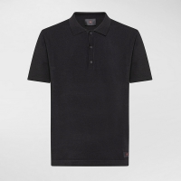 Поло PEUTEREY OMAR ELASTICATED POLO SHIRT BLACK