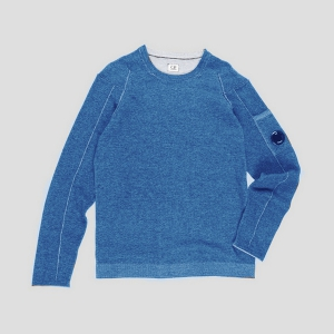 Джемпер CP COMPANY VANISE COTTON CREWNECK SWEATER