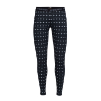 Кальсоны ICEBREAKER W OASIS LEGGINGS BLACK/SNOW