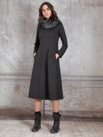 Платье TONET JERSEY DRESS 2002TO 938 ANTHRACITE