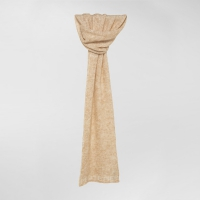 Шарф PEUTEREY PARMIDA SOLID COLOR MOHAIR SCARF PEARL