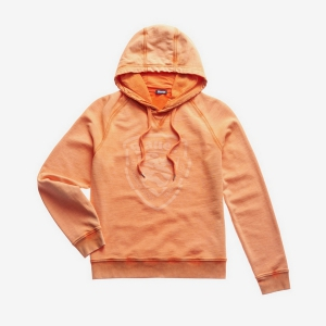 Джемпер BLAUER MEN'S GARMENT DYED HOODED ORANGE